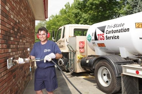 Local CO2 Delivery - Tri-State Carbonation Service